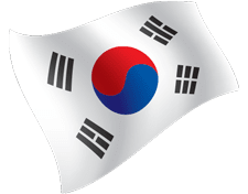 korea flag icon